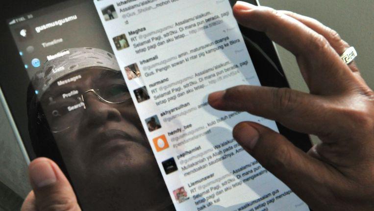 250 radicale Facebook- en Twitteraccounts zijn gesloten door België sinds november Beeld afp