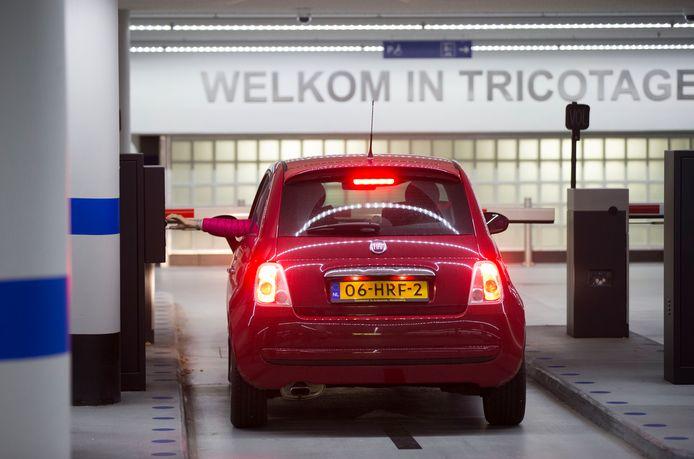 De Tricotage, een van de drie gemeentelijke parkeergarages in Veenendaal.