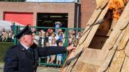 Brandweerkorps Zele houdt tijdens opendeurdag eerbetoon aan overleden collega Patrick Van Malderen
