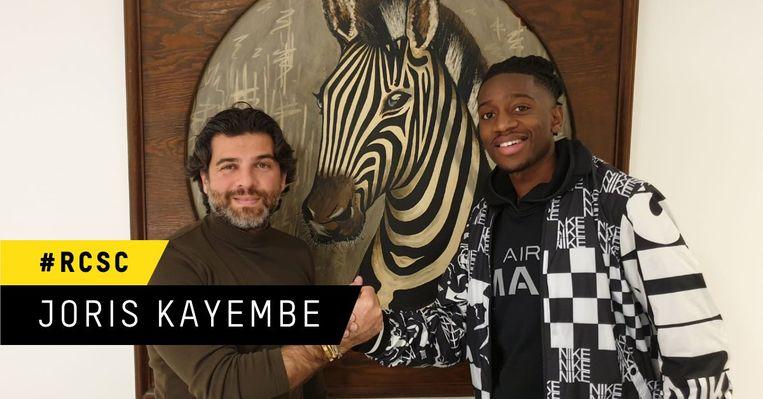 Joris Kayembe rejoint le Sporting de Charleroi