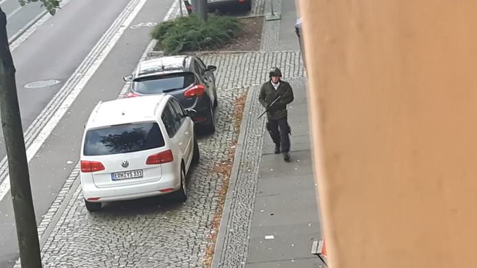 Stephan Billiet, afgelopen woensdag in Halle.