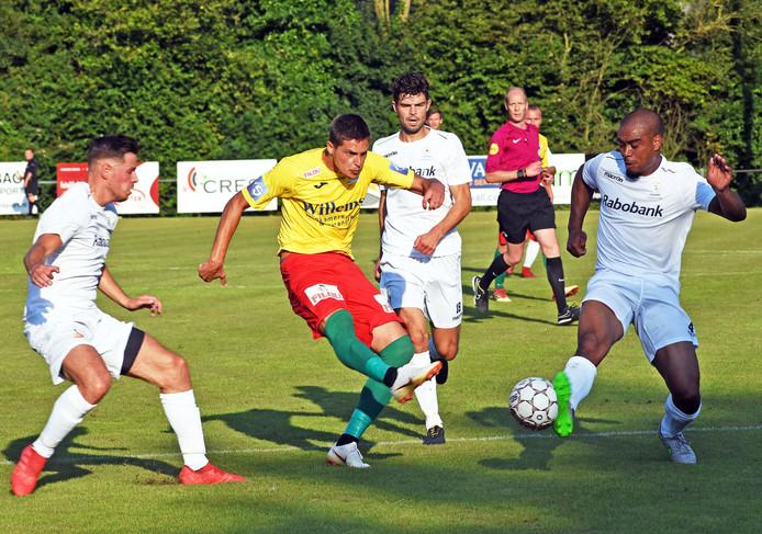 Tegen KV Oostende (0-0) speelde het Zeeuws elftal gelijk: 0-0.