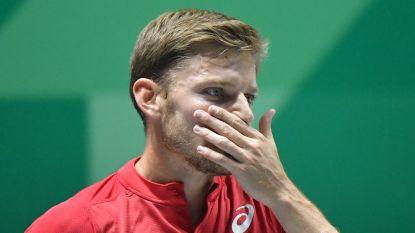 Na Darcis ook zwakke Goffin onderuit: Belgen verliezen van Australië in Davis Cup