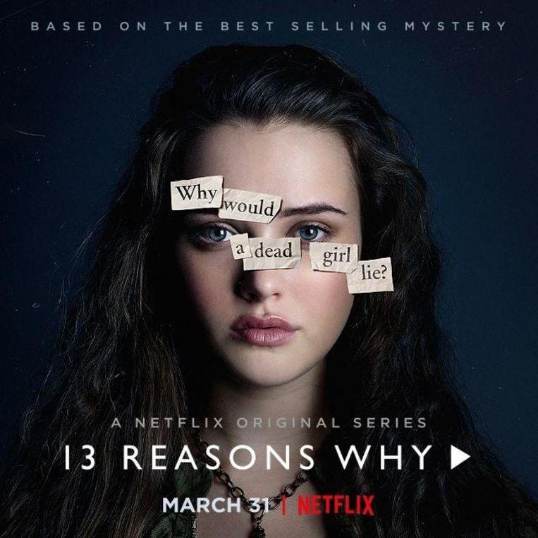 De aanpassing komt vlak voor de lancering van het derde seizoen van 13 Reasons Why. Beeld Netflix