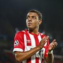Donyell Malen kopte PSV in Wit-Rusland naar de belangrijke zege op BATE Borisov.