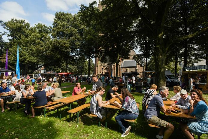 De eerste editie van het Biks Food Festival in Hilvarenbeek.