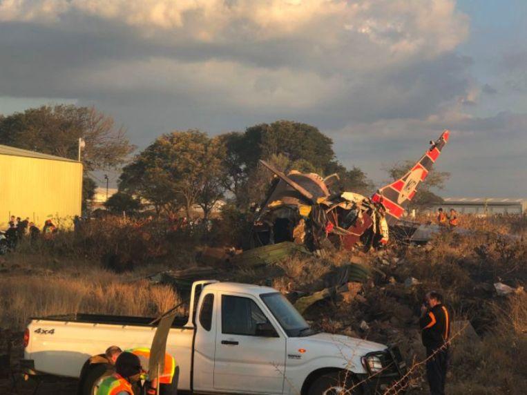 Er zijn zeker twintig gewonden gevallen bij de crash.