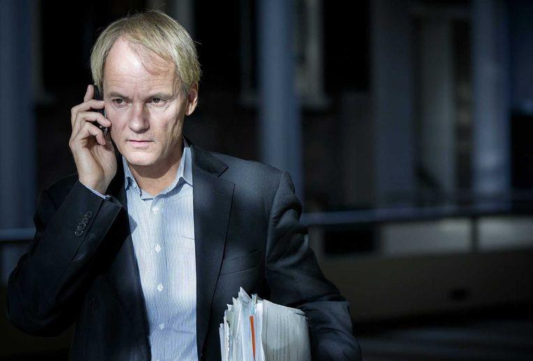 SP-kamerlid Harry van Bommel: 'Als wapens geen onderscheid kunnen maken tussen strijders en niet-strijders, zijn ze illegaal.' Beeld anp
