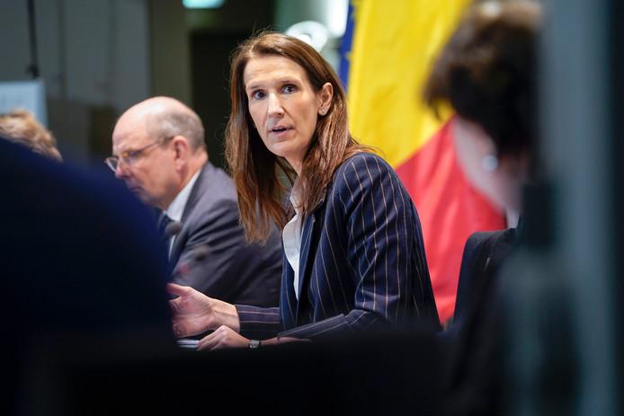 La Première ministre Sophie Wilmès