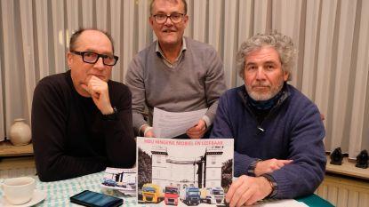 """Actiegroep protesteert tegen derde vergunningsaanvraag van transportbedrijf VRD: """"Die honderden trucks horen niet thuis in Hingene"""""""