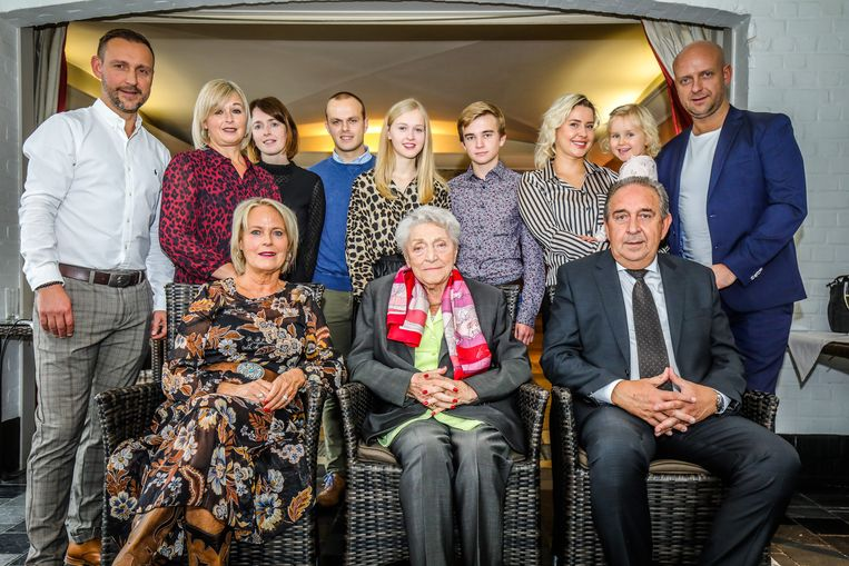 100 jarige Agnes Vandooren
