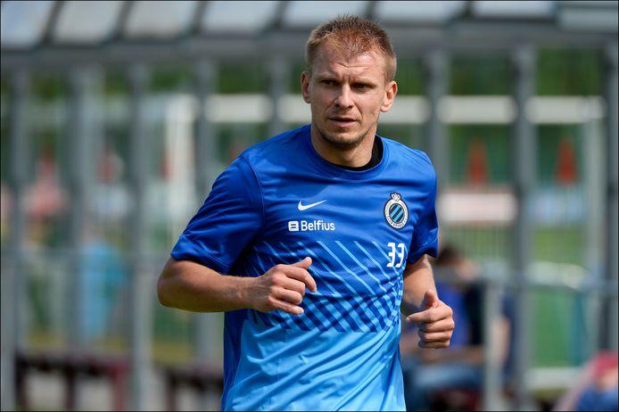 Vladan Kujovic bij Club Brugge.