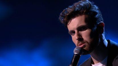 Eurovisiesongfestival-winnaar Duncan Laurence brengt 'Arcade' tijdens finale van The Voice