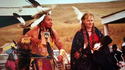 De Vlaamse squaw van chief Dave Bald Eagle: Josée vond de liefde bij de Lakota-indianen