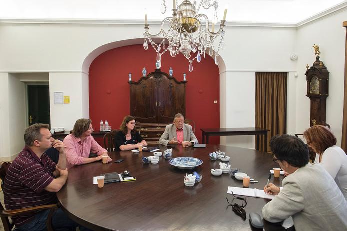 Interview met demissionair wethouders Bob Bergkamp, Mirjam Haagh, Bernie van den Berg en Patrick van Lunteren