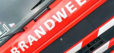 Poolse man weigert brandend huis te verlaten in Kapelle, politie houdt hem aan