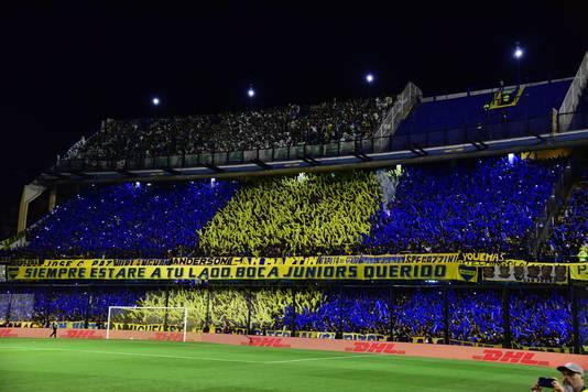 Fans van Boca Juniors in La Bombonera.