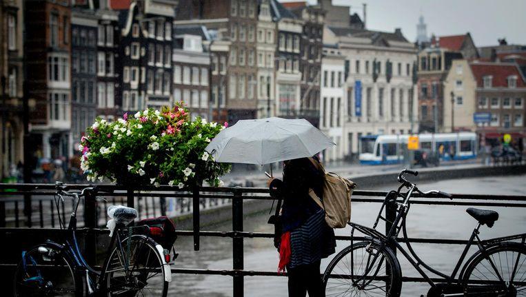 Amsterdam centrum. Beeld ANP