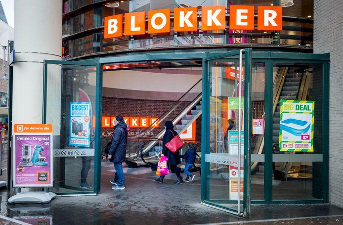 Een Blokker-filiaal in Den Haag.