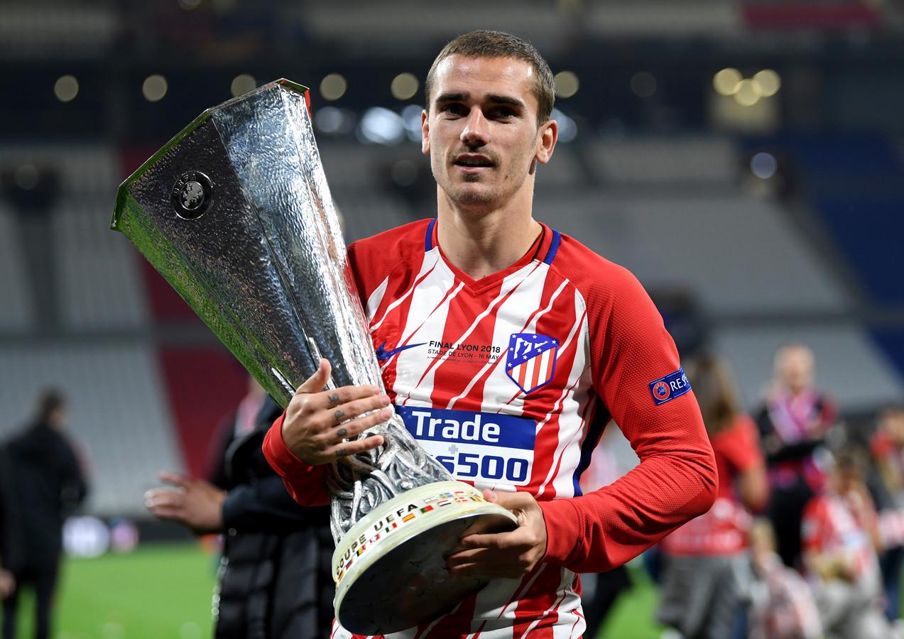 Atlético Madrid-aanvaller Antoine Griezmann besliste vorig seizoen de EL-finale tegen Olympique Marseille (3-0).