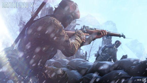 Een paar minder bekende uithoeken van WOII, zoals het barre Noorwegen, worden belicht in 'Battlefield V'.