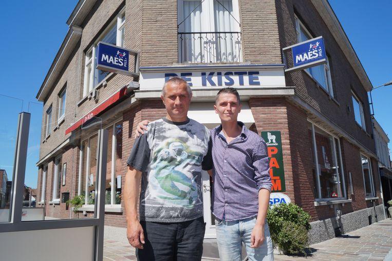 Geert en Dieter Janssens gaan samen De Kiste uitbaten.