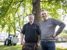Jansen en Janssen gaan de strijd met de jeukrups aan in Hengelo
