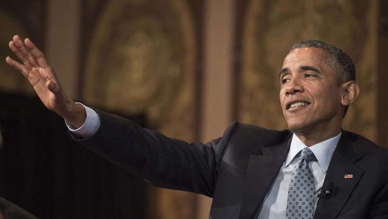 President Barack Obama. Beeld null