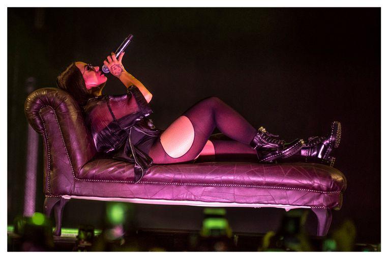Demi Lovato in de Lotto Arena.