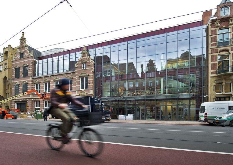 In Nederland in het DeLaMar-theater een belangrijke plek voor musicals van Van den Ende. Het theater is ook zijn eigendom. Beeld anp