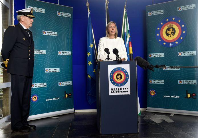 La ministre de la Défense, Ludivine Dedonder