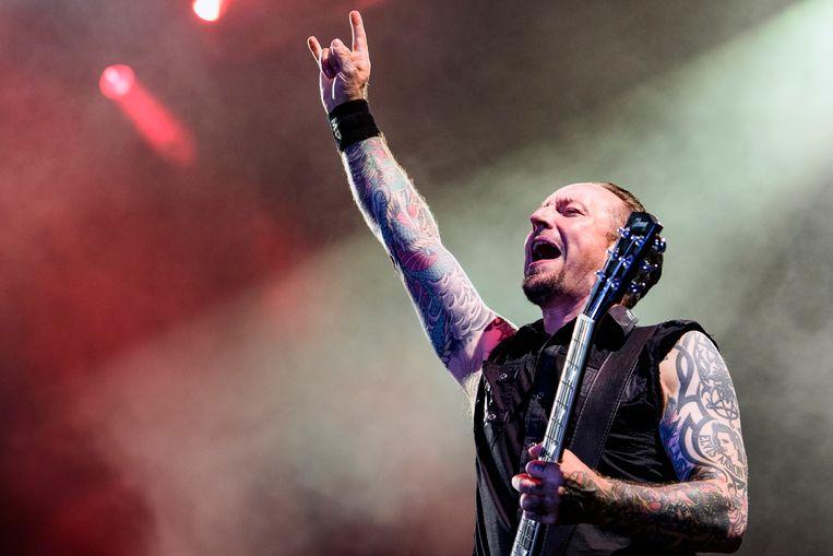 Volbeat is de headliner op Graspop op zaterdagavond.