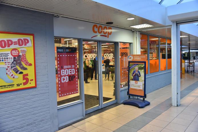 De Coop aan de Symfoniestraat in Nijmegen maandagochtend.
