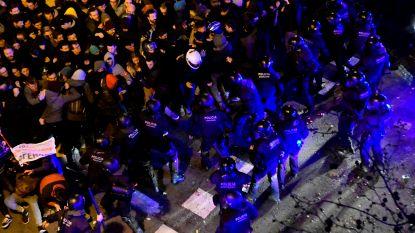 55.000 Catalanen op straat tegen arrestatie Puigdemont, 79 gewonden bij confrontaties met politie