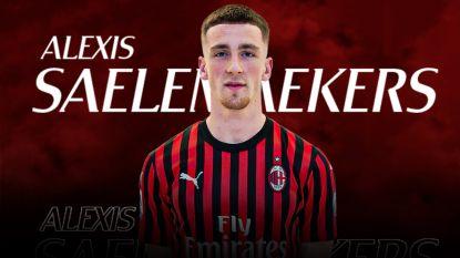 Saelemaekers officieel een speler van AC Milan, dat Belg huurt met aankoopverplichting