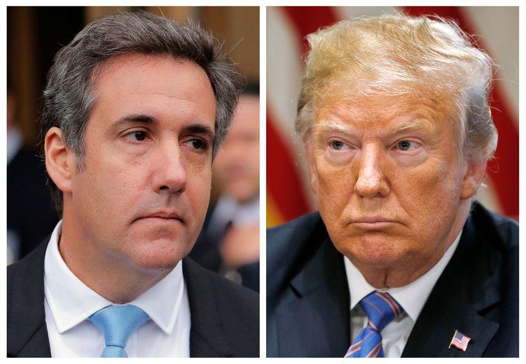 Michael Cohen getuigt vandaag onder ede over president Trump in het Amerikaanse Congres.