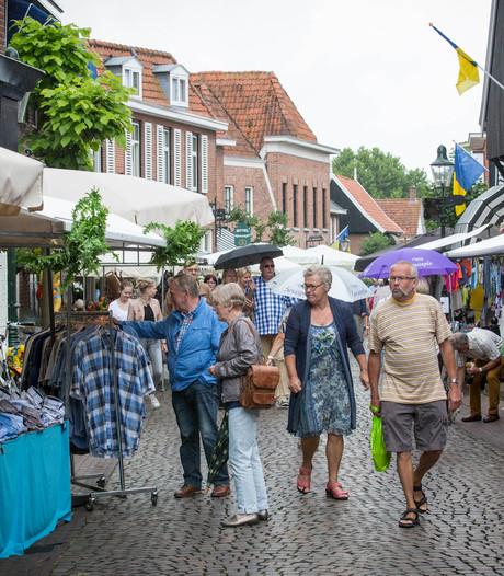 Siepelmarkten Ootmarsum na 47 jaar op de tocht na wegvallen BIZ