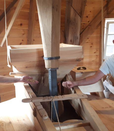 Zo bouwde Vinkel haar naar Amerika verhuisde molen terug