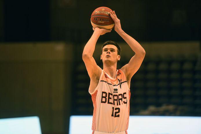 Nieuwkomer Thibault Vanderhaegen is gemotiveerd om zich te tonen bij de Bears.