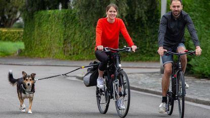 Koppel fietst 9.000 kilometer naar Mongolië, hond Scotty gaat mee