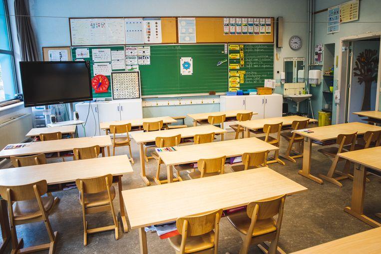 Officieel zullen er maximum 10 kindjes in een klas mogen, en moet elk kind 2 vierkante meter hebben.