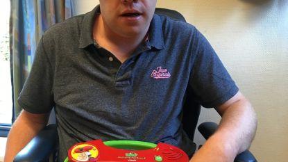 """Kabouter Plop-bord gezocht voor Nederlandse Arjen: """"Het is zijn enige manier van communiceren"""""""