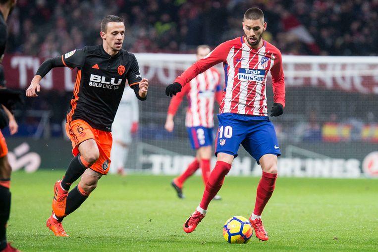 Carrasco trekt vanavond met Atlético naar Kopenhagen.