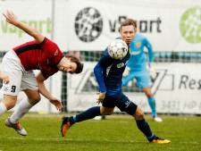 Mat DHSCmorst punten tegen FC Rijnvogels
