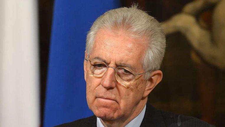 Mario Monti Beeld ANP