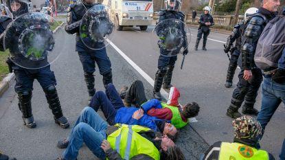 Stenen gegooid naar politie: vier gele hesjes morgen voor correctionele rechtbank