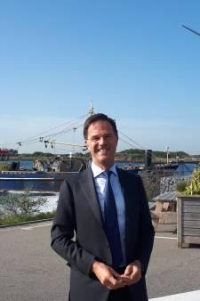 Premier Rutte op werkbezoek in Zeeland