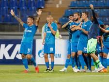 Zenit maakt voor leeg stadion 4-0 nederlaag meer dan goed