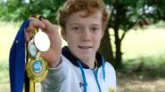 Veertienjarige Kilan uit Lint haalt zilver op Belgisch kampioenschap turnen