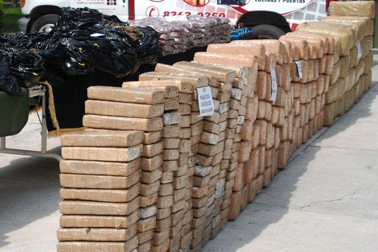 In beslag genomen drugs in Mexico (EPA) Beeld EPA